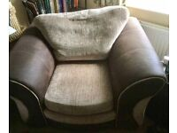 Sofa and chair for sale. Priced for quick sale