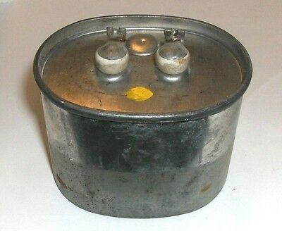 Vintage Sangamo Oil Capacitor 3 Mfd Mfd 660 Wvac
