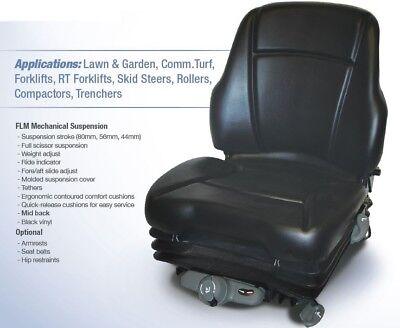 Flm Mechanical Suspension Seat Skid Steer Florklift Trencher Mower Rollers