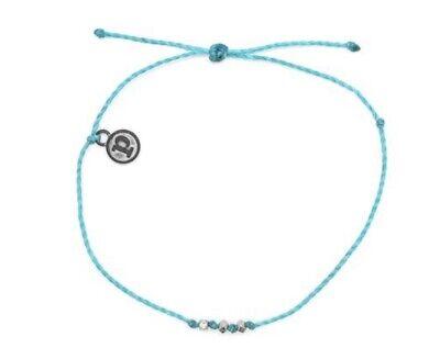 BNWT Pura Vida Delicate Seed Bead ~ Pacific Blue ~ Bracelet