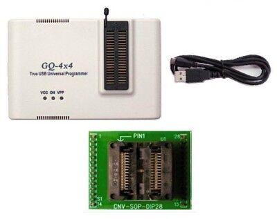 Gq Prg-118 Gq-4x4 Willem Programmer Light Pack Adp-028 Soic28-dip28 Adapter