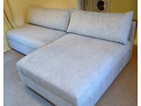 Reduced: John Lewis Switch Sofa Bed, Arden Blue Grey