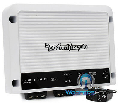 M750 1D Rockford Fosgate Punch Amp Marine Boat 1500W Max Subwoofer Amplifier New