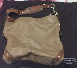 Coach Brown/Carmel Leather Carly