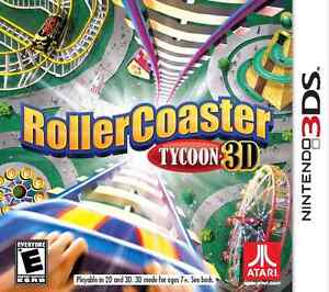 3DS Roller Coaster Tycoon 30$ ou échange .