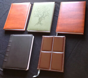 Various Writing Journals
