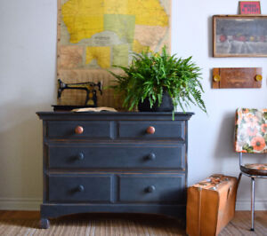 Black Farmhouse Dresser - Delivery available