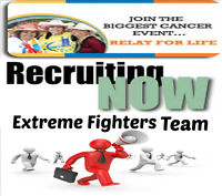 Extreme Fighters Relay for life  Team