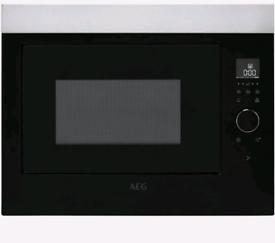AEG built in microwave stainless steel *NEW IN PACKAGING*
