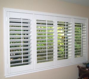 CALIFORNIA WINDOW SHUTTERS - WOOD & VINYL