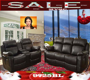 sectional living room furniture sets, love seats, chairs, 9725BR