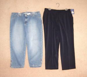 Tommy Hilf. Capris, New Pants, New Tops, NEW jacket - sz 16, XL