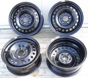"""4 rims 15"""" with 5 holes Ford"""