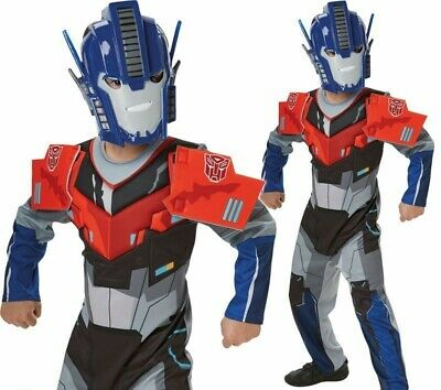 Deluxe Transformers Optimus Prime Jungen Kostüm Superheld Kostüm - Optimus Prime Kostüm