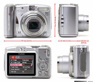 Canon PowerShot A720 IS Digital Camera