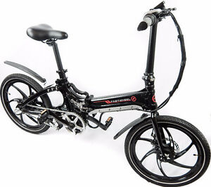 Compact foldable electric bicycle - urban commuting