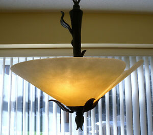 PRICE REDUCED -- MOVING -- Quoizel Pendent Ceiling Light