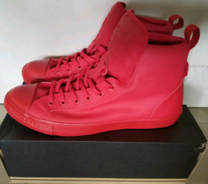 Red Converse Chuck Taylor
