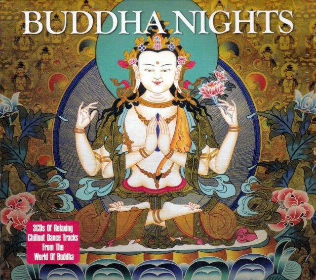 BUDDHA NIGHTS - CHILLOUT DANCE TRACKS FROM THE WORLD OF BUDDHA (NEW SEALED 3CD)