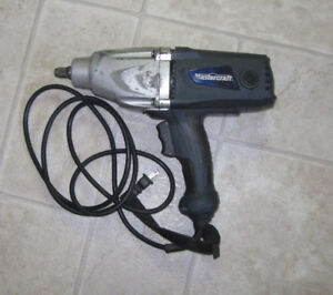 "Mastercraft 1/2"" electric impact gun"