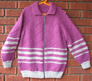 Zippered sweater, size 10- Brand new *on sale*