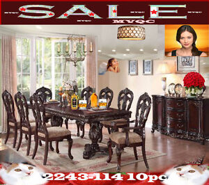 Formal dining & dinette room sets, tables, chairs, 2243-114 10pc