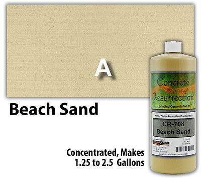 Professional Easy To Apply Water Based Concrete Stain - Beach Sand