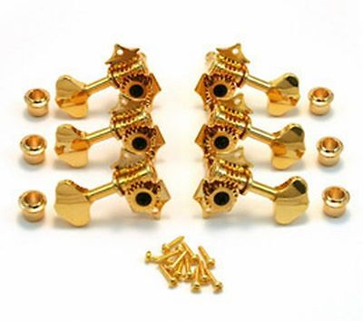 GROVER STA-TITE STATITE TUNERS GOLD 18:1 For Martin Gretsch GUITARS on Rummage