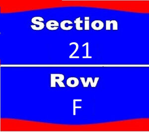 2 Tickets Def Leppard  Scotiabank Centre Halifax Lower Bowl