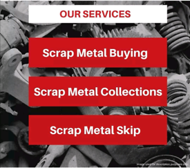 SCRAP METAL WANTED FREE COLLECTION 24/7 ALL LONDON RUBBISH CLEARANCE