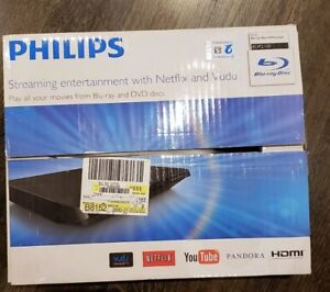 PHILIPS STREAMING ENTERTAINMENT WITH NETFLIX & VUDU DVD PLAYER