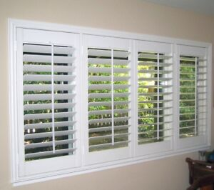 California & Plantation Shutters - Wood and Vinyl