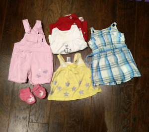 12 months baby girls clothes