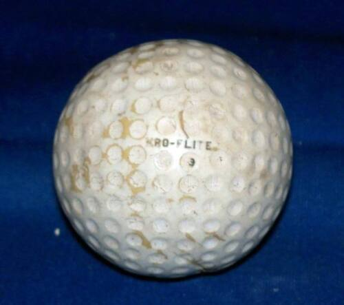 Vintage Spalding Kro Flite Cadwell Geer Golf Ball