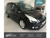 2010 Peugeot 5008 1.6HDi(110bhp)Exclusive - 2 Former Keepers-2 Keys-6 Services