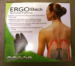 ERGO Back lumbar support system - BRAND NEW !