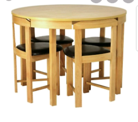 Brand new spacesaver dining set table and chairs