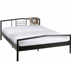 JYSK Silver metal bed frame for double size