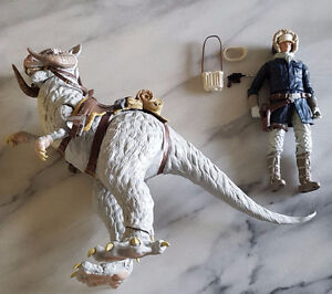 Star Wars the black series Han solo and Tauntaun action figure
