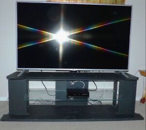 Large Flat Screen TV with stand
