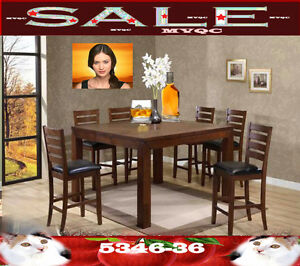 square kitchen & dinette room sets, chairs, tables, 5346-36