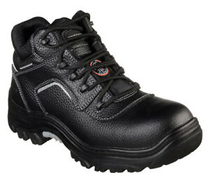 NEW! MENS SKECHERS COMPOSITE SAFETY TOE WORK BOOTS SIZE 11.5