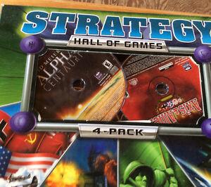 2001 STRATEGY HALL OF GAMES 4-PACK. STRATEGY ACTION X 4 Gatineau Ottawa / Gatineau Area image 2