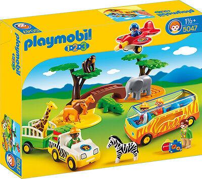 """PLAYMOBIL®  1-2-3    * 5047 *   """" Große Afrika-Safari """", NEU & OVP"""
