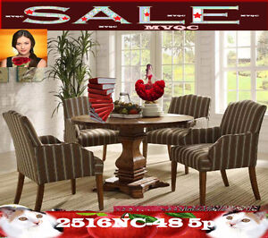 dinette & dining room sets, tables, arm chaise, benches, 2516NC