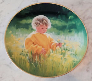1989-March-of-Dimes-Collectors Plate -A-Time-To-For-Peace