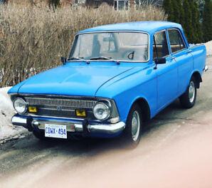 1978 Izh Moskvich 412