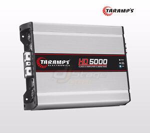 Taramps 5K HD5000 1-Ohm Stable 5000 Watts RMS @ 1 OHM Mono Block