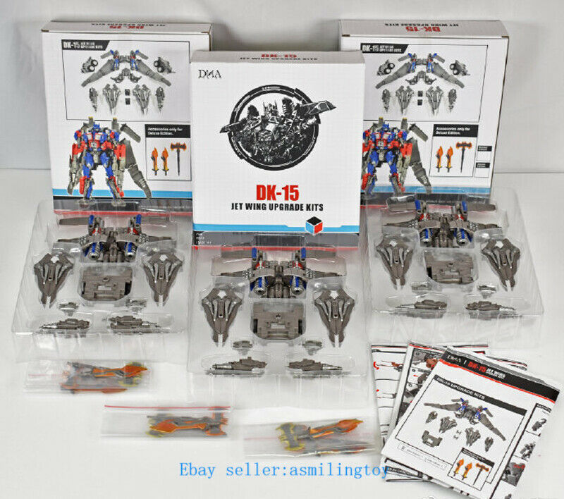New Transformation Toy DNA Design DK-15 Jet Wing upgrade Kits in Stock