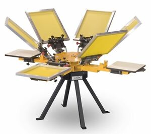 On Hold -Screen Printing equipment (mint condition, with extras)